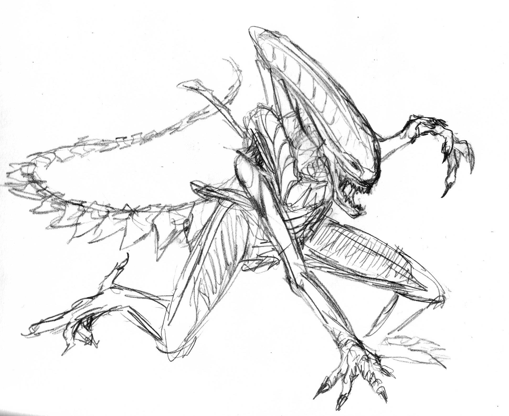 Pictures of Simple Alien Drawings - #rock-cafe